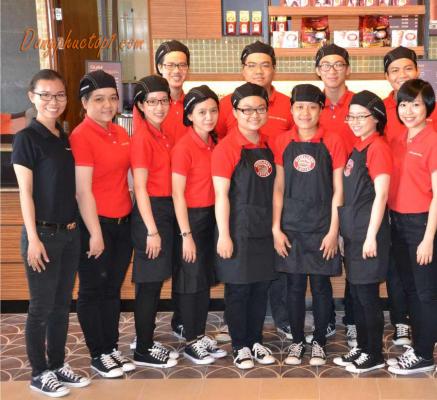 Đồng phục quán cafe tạo phong cách riêng